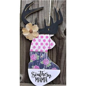 Southern Mama Deer 🦌 Head Wall Hanger